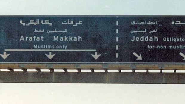 Entering Makkah