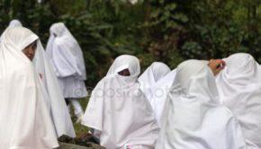 Women in Ihram in Hajj