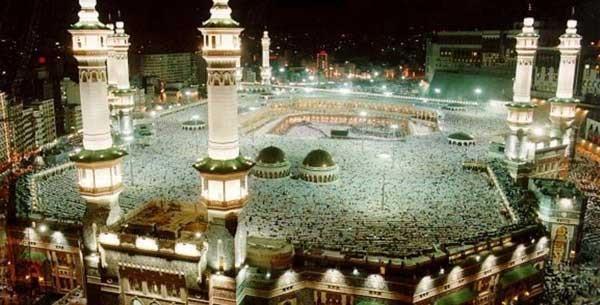 residing in Mecca